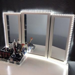 Vanity mirror with lights for bedroom 01