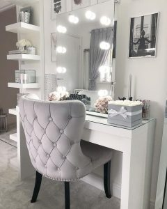 Vanity mirror with lights for bedroom 07