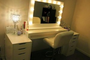 Vanity mirror with lights for bedroom 13