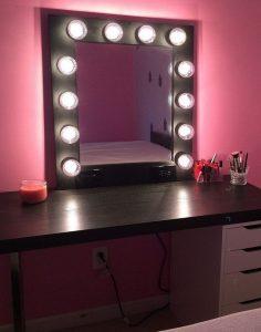 Vanity mirror with lights for bedroom 39