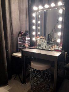 Vanity mirror with lights for bedroom 47