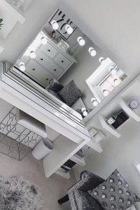 Vanity mirror with lights for bedroom 53