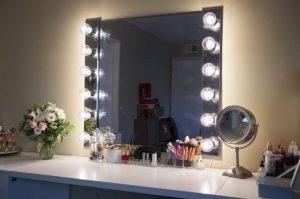 Vanity mirror with lights for bedroom 59