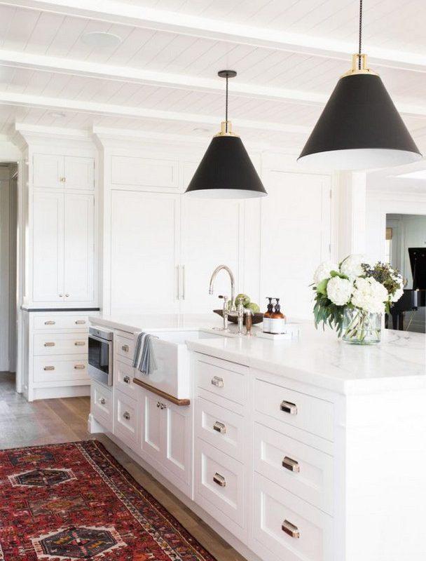 11 Pretty White Kitchen Design And Decor Ideas For Kitchen 36