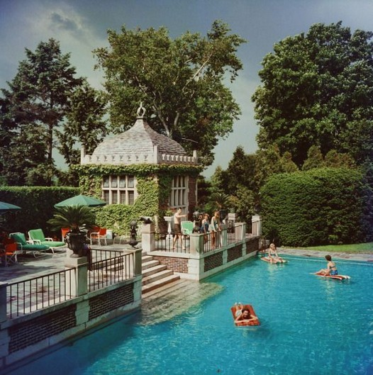 13 Casual Cabana Swimming Pool Design Ideas 22