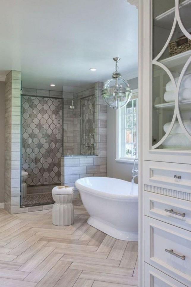 14 Delightful Bathroom Tub Shower Combo Remodeling Ideas 15
