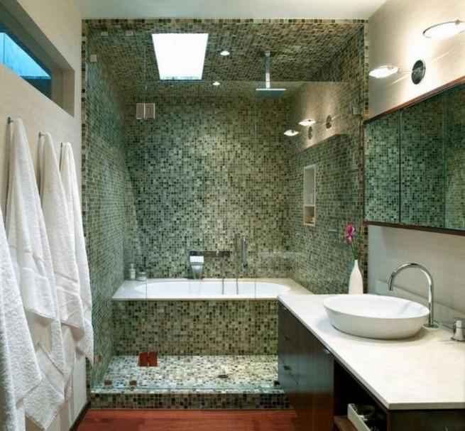 14 Delightful Bathroom Tub Shower Combo Remodeling Ideas 39