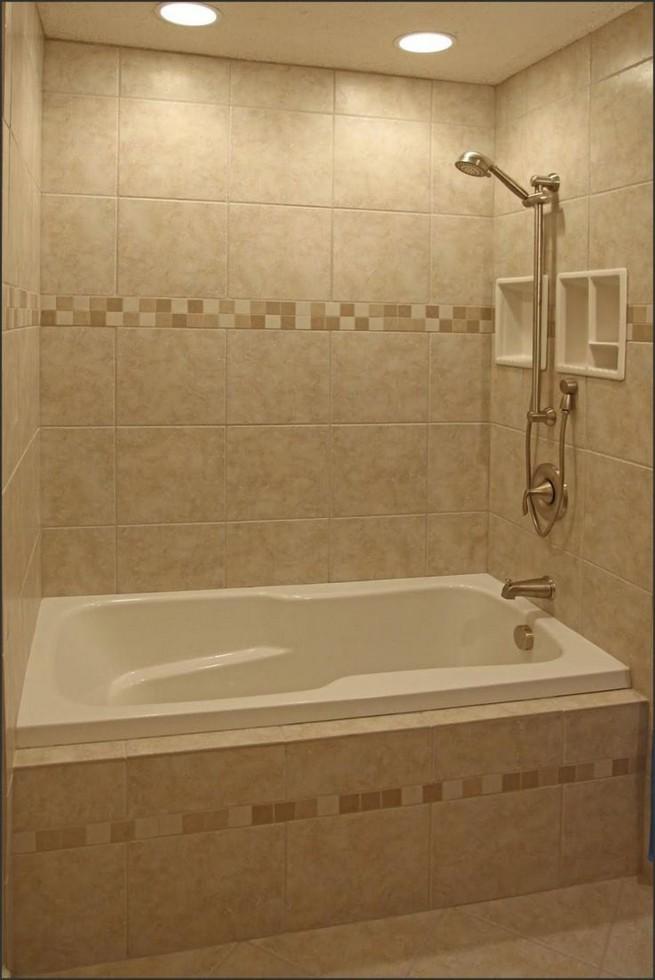 14 Delightful Bathroom Tub Shower Combo Remodeling Ideas 46