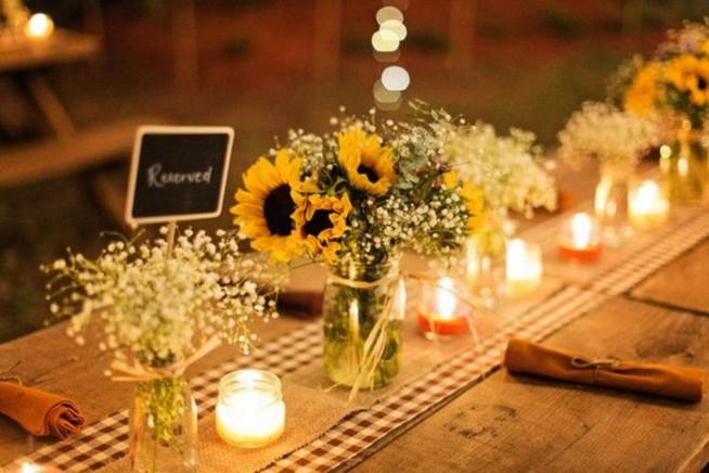 15 Rustic Backyard Outdoor Wedding Ideas 02