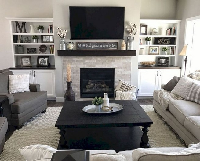 17 Attractive Modern Family Room Designs Ideas 02