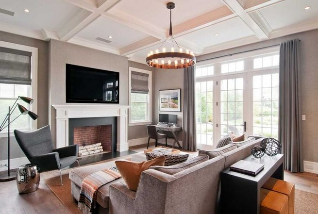 17 Attractive Modern Family Room Designs Ideas 42