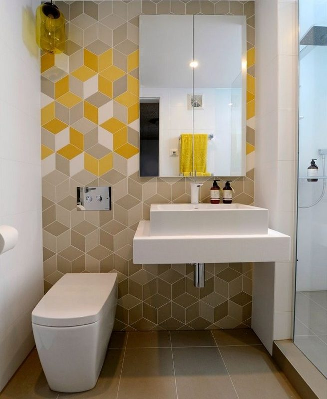 17 Fabulous Small Yet Functional Bathroom Design Ideas 63