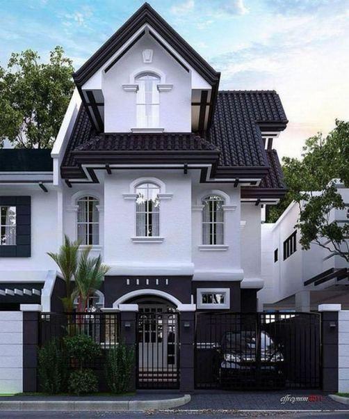 18 Best Ideas For Black House Exterior Design 21