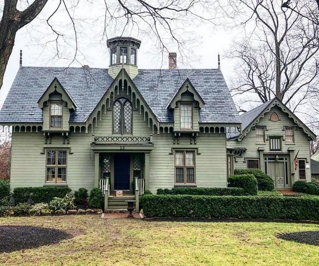 21 Gorgeous Cottage House Exterior Design Ideas 32