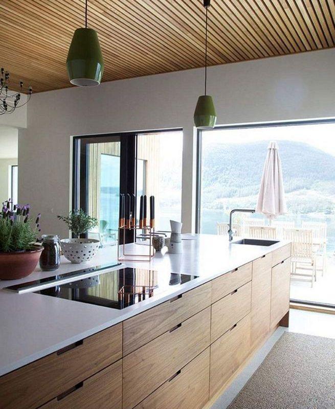 14 Stunning Vintage Wooden Kitchen Island Decor Ideas 30