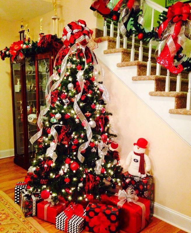 11 Pretty Ideas Christmas Tree Themes Home Decor Everyday 13