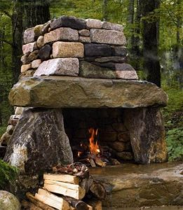 15 Amazing Outdoor Fireplace Design Ever 18