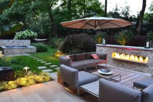 15 Amazing Outdoor Fireplace Design Ever 27