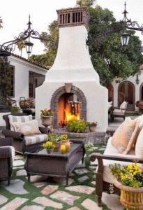 15 Amazing Outdoor Fireplace Design Ever 28