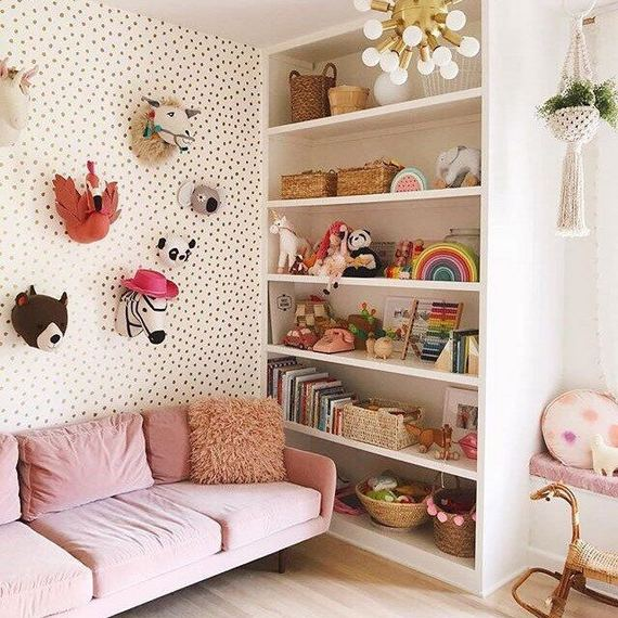 18 Adorable Kids Play Room Ideas On Budget 26