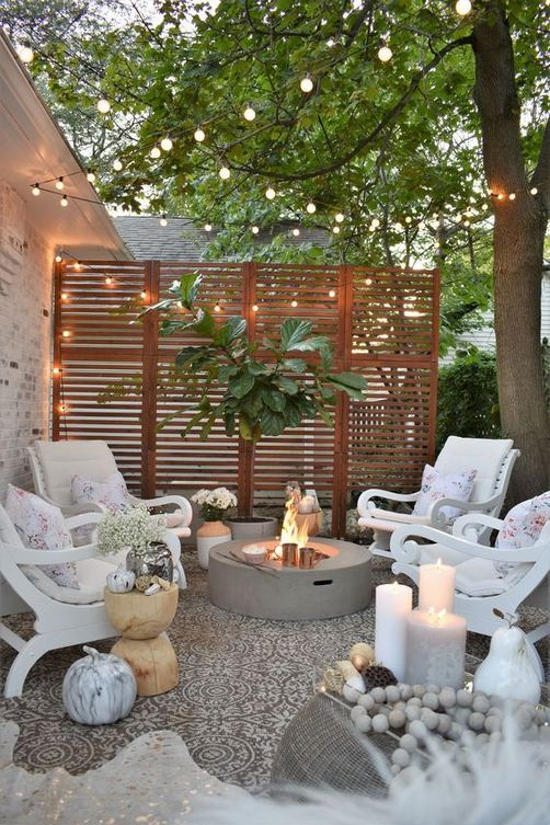 19 Fabulous Backyard Patio Landscaping Ideas 20