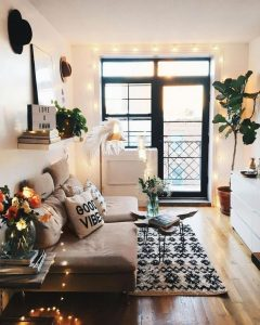 12 Cozy Soft White Couch Design Ideas For Small Living Room 02
