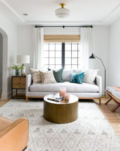 12 Cozy Soft White Couch Design Ideas For Small Living Room 06