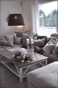 12 Cozy Soft White Couch Design Ideas For Small Living Room 27