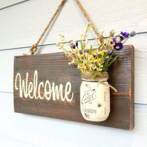 12 Incredibly DIY Wood Sign Ideas For Your Home Decoration 19