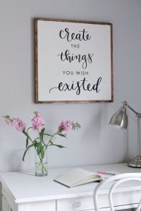 12 Incredibly DIY Wood Sign Ideas For Your Home Decoration 20