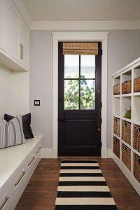 12 Stunning Rustic Small Mudroom Entryway Decor Ideas 09