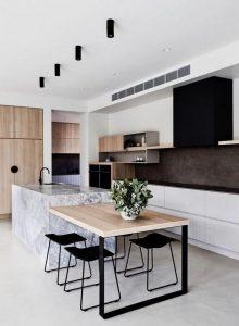 12 Stylish Luxury White Kitchen Design Ideas 16