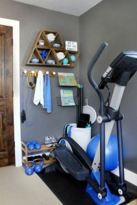 13 Comfy Gym Room Ideas For Small Spaces 16
