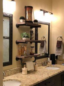13 Creative DIY Pipe Shelves Design Ideas 10