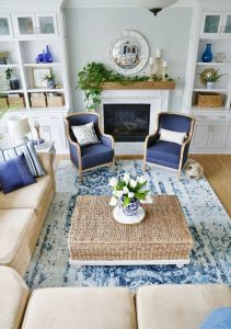 13 Inspiring Coastal Living Room Decor Ideas 13