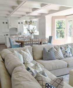13 Inspiring Coastal Living Room Decor Ideas 21