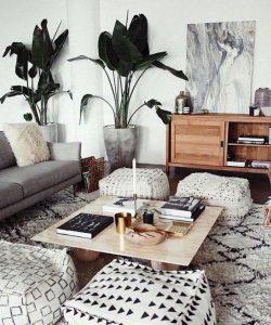14 Cozy Bohemian Living Room Decoration Ideas 09