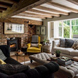 14 Cozy Bohemian Living Room Decoration Ideas 11