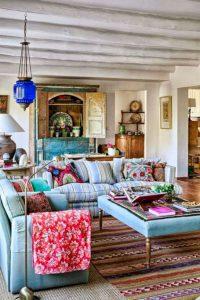 14 Cozy Bohemian Living Room Decoration Ideas 17