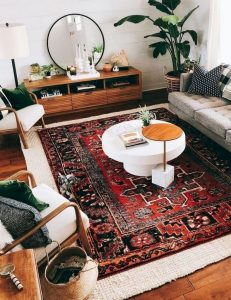 14 Cozy Bohemian Living Room Decoration Ideas 30