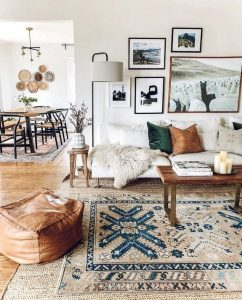 14 Cozy Bohemian Living Room Decoration Ideas 39