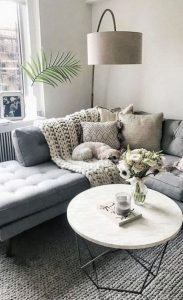 14 Cozy Small Living Room Decor Ideas For Your Apartment 23