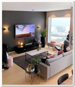 14 Cozy Small Living Room Decor Ideas For Your Apartment 35