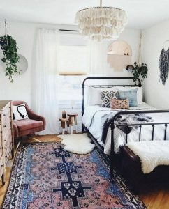 14 Elegant Boho Bedroom Decor Ideas For Small Apartment 07