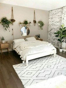 14 Elegant Boho Bedroom Decor Ideas For Small Apartment 25