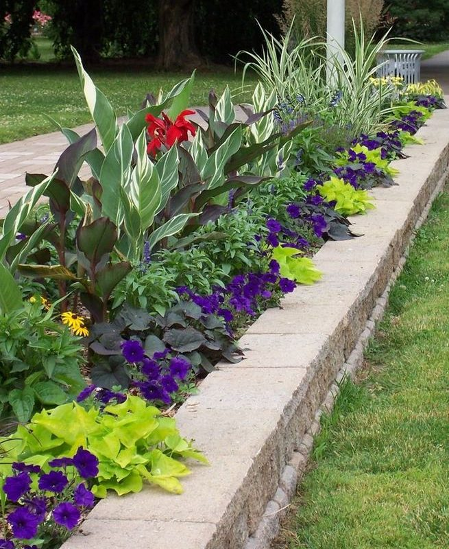 14 Simple Raised Garden Bed Inspirations Backyard Landscaping Ideas 22