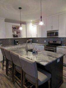 15 Incredible Farmhouse Gray Kitchen Cabinet Design Ideas 20