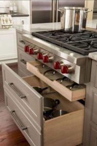16 Modern Farmhouse Kitchen Cabinet Makeover Design Ideas 21