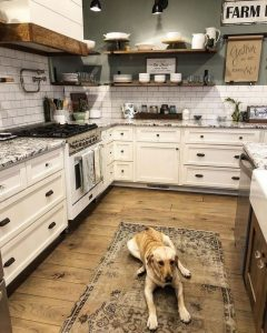 16 Modern Farmhouse Kitchen Cabinet Makeover Design Ideas 24