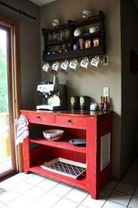 17 Easy DIY Mini Coffee Bar Ideas For Your Home 33